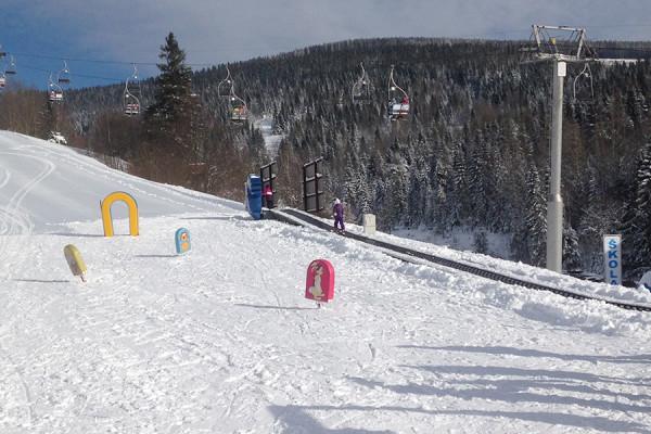 Detský lyžiarsky areál SUN kid