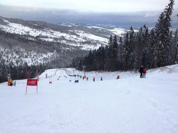 Preteky na meranej slalomovej dráhe