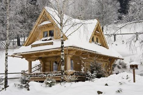 Zrubový domček u Vincka
