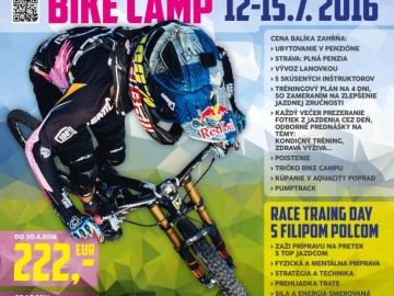 12-15.7.2016 BIKE CAMP Bachledka s Filipom Polcom