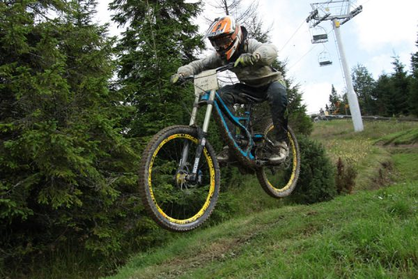 Bike camp, DH race, tower 2015