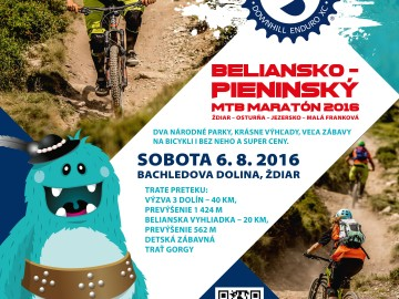 6.8.2016 Beliansko – Pieninský MTB maratón