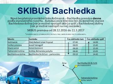 od 28.12. nový SKIBUS z Kežmarku