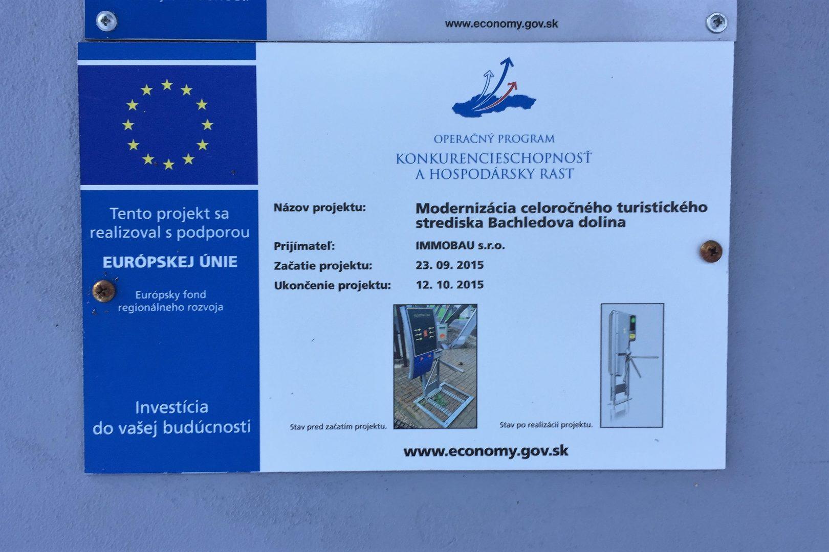 Projekt Bachledka EU 2