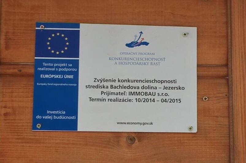 Projekt Bachledka EU 3