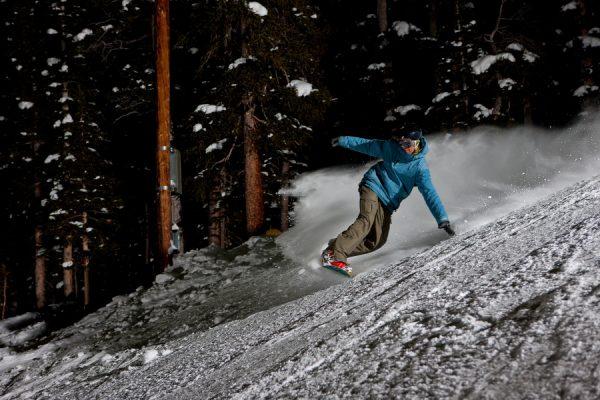 Večerná lyžovačka