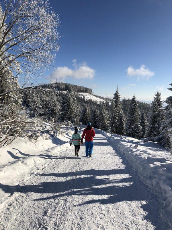 Prechádzka zimnou prírodou k Jezerskému jazeru či do Ždiaru