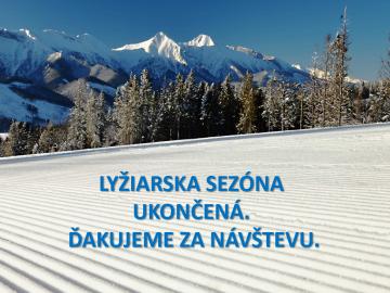 Ski season ended